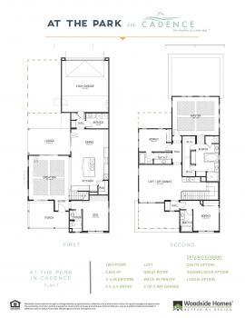 Floorplan for Delano