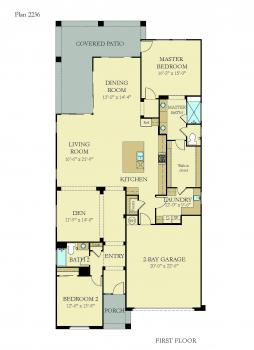 Floorplan for Residence 2236
