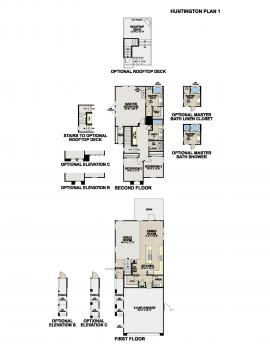 Floorplan for Horizon