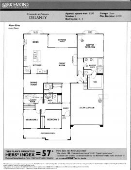 Floorplan for Delaney
