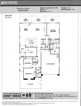 Floorplan for Rincon