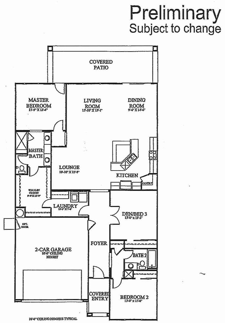 Floorplan for Residence 1953