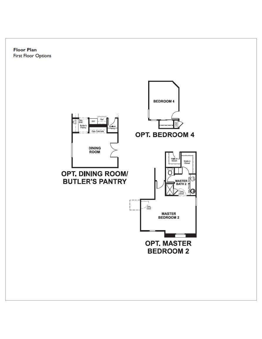 Floorplan for Dominic