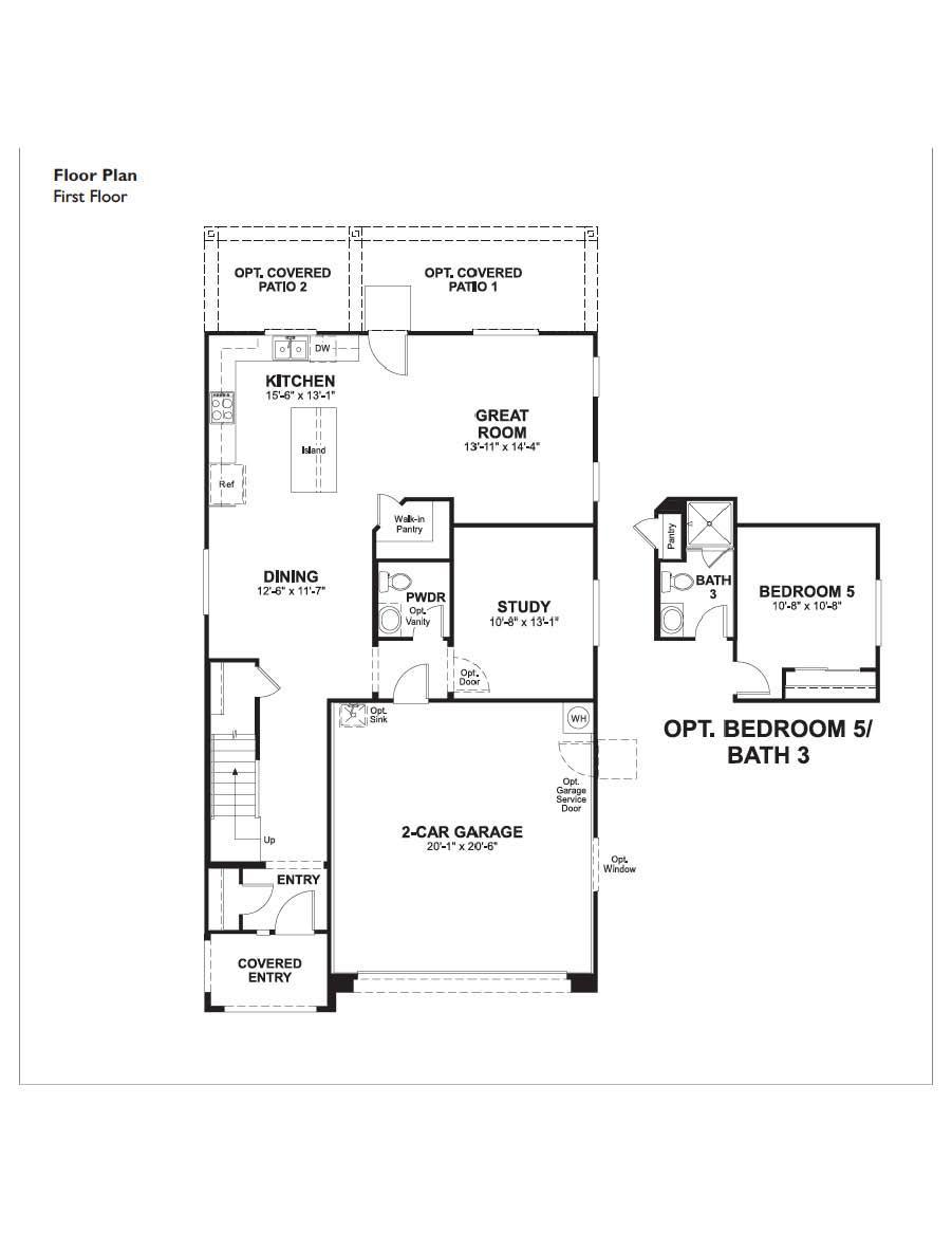 Floorplan for Lawson