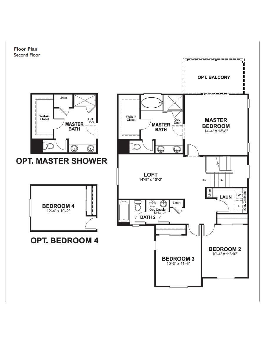Floorplan for Lindsay