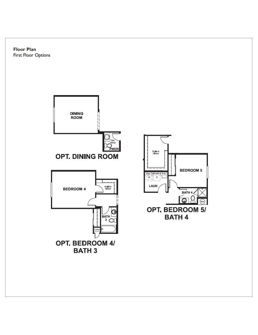 Floorplan for Paige